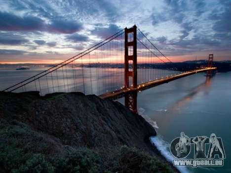 Les écrans de chargement, San Francisco pour GTA 4 secondes d'écran