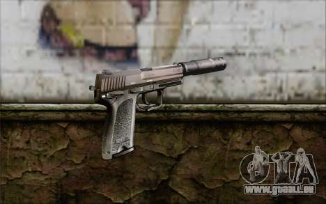 G17 pistol pour GTA San Andreas deuxième écran