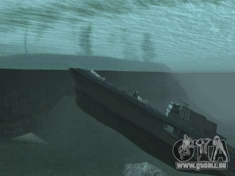 L'épave v2.0 Final pour GTA San Andreas deuxième écran