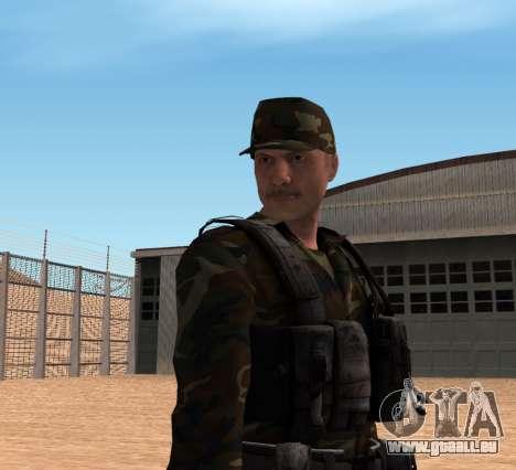 Army HD pour GTA San Andreas troisième écran