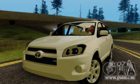 Toyota RAV4 pour GTA San Andreas laissé vue