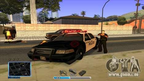 C-HUD by Andr1k pour GTA San Andreas cinquième écran