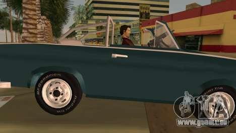 Trabant 601 Custom pour GTA Vice City sur la vue arrière gauche