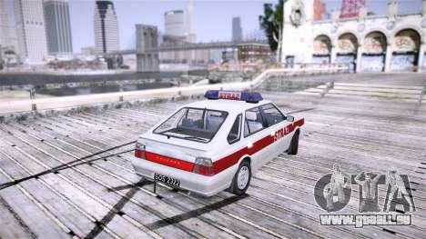 Daewoo FSO Polonez Caro Fire für GTA 4 hinten links Ansicht
