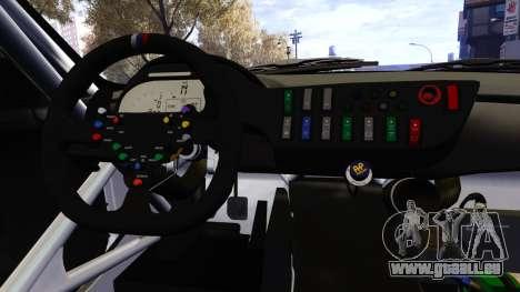 BMW Z4 GT3 2012 für GTA 4 obere Ansicht