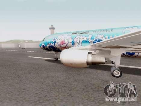 Airbus A320 Air China für GTA San Andreas linke Ansicht