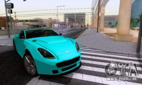 GTA V Rapid GT Cabrio pour GTA San Andreas vue de côté