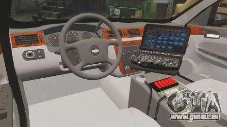 Chevrolet Impala 2008 LCPD [ELS] pour GTA 4 Vue arrière