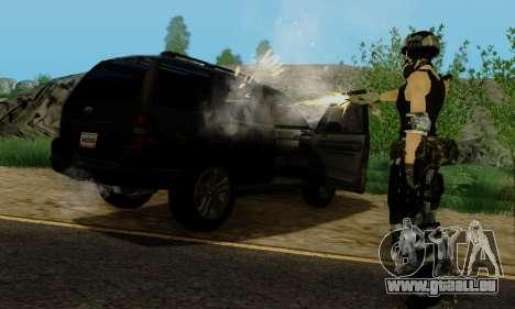 SWAT GIRL pour GTA San Andreas septième écran