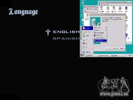 Das Windows-Menü für GTA San Andreas siebten Screenshot