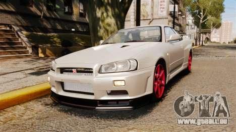 Nissan Skyline GT-R R34 V-Spec II pour GTA 4