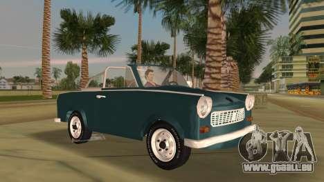 Trabant 601 Custom pour GTA Vice City