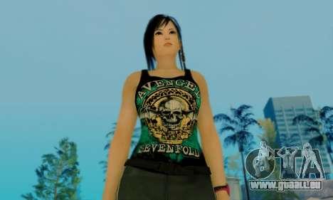 Kokoro A7X pour GTA San Andreas sixième écran