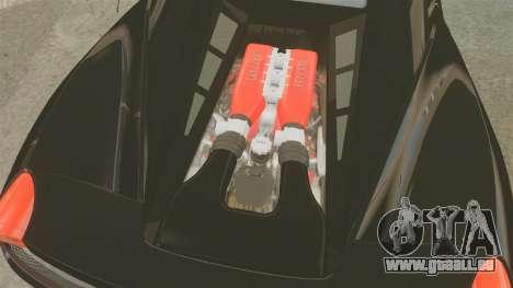 Ferrari 458 Italia 2010 Monster Energy pour GTA 4 est une vue de l'intérieur