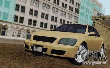 GTA IV Sultan für GTA San Andreas