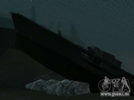 L'épave v2.0 Final pour GTA San Andreas troisième écran