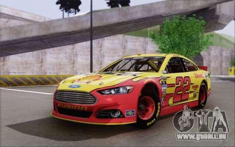 Ford Fusion NASCAR Sprint Cup 2013 für GTA San Andreas