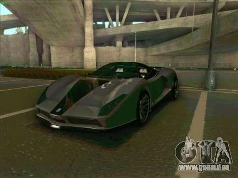 Cheetah Grotti GTA V pour GTA San Andreas