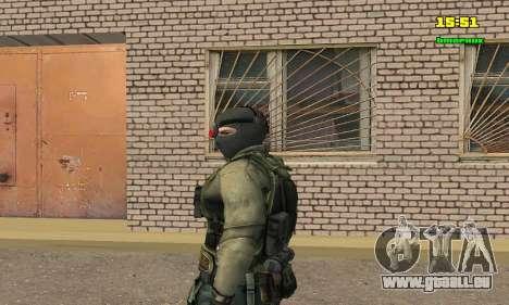 Кестрел Splinter Cell Conviction pour GTA San Andreas deuxième écran