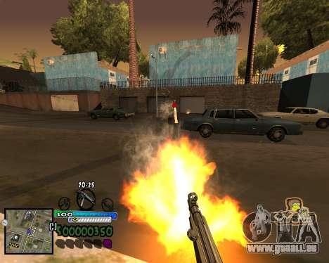 Vue à partir de la première personne pour GTA San Andreas