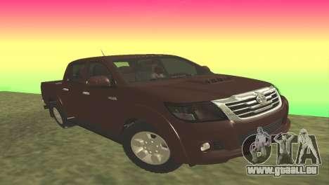 Toyota Hilux 2014 pour GTA San Andreas