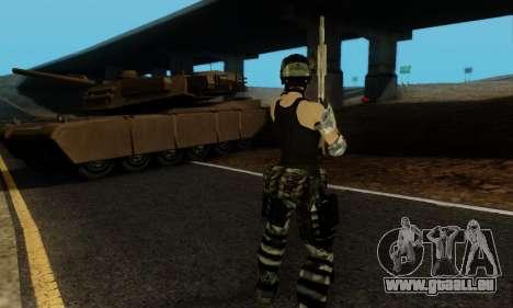 SWAT GIRL pour GTA San Andreas sixième écran
