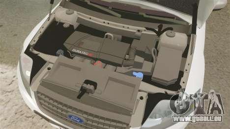 Ford Mondeo Croatian Police [ELS] pour GTA 4 est une vue de l'intérieur