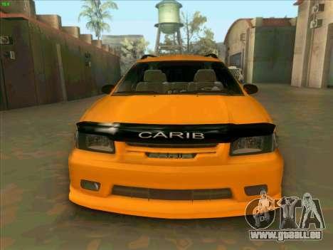 Toyota Carib für GTA San Andreas Rückansicht