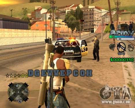 C-HUD For Army pour GTA San Andreas deuxième écran