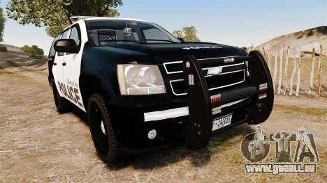 Chevrolet Tahoe 2008 LCPD [ELS] für GTA 4