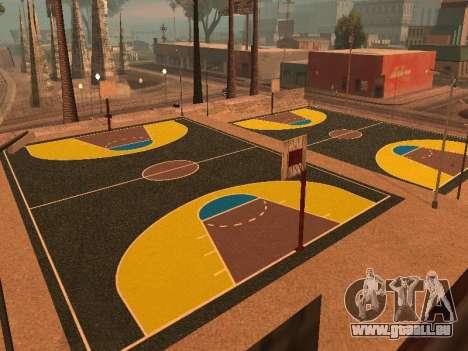 Neuer Basketballplatz für GTA San Andreas