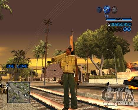 C-HUD Minimal für GTA San Andreas