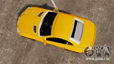 Mercedes-Benz SLK 55 AMG 2014 v1.4 pour GTA 4 est un droit