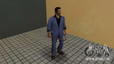 Les armes de Chasse à l'homme pour le quatrième écran GTA Vice City