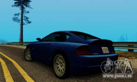 Fusilade GTA V pour GTA San Andreas vue de droite