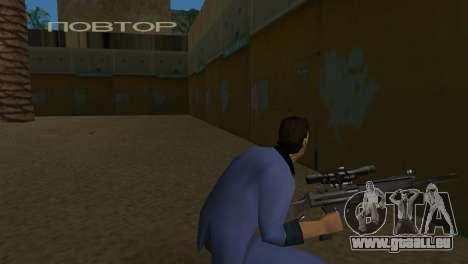 Retexturer armes pour le quatrième écran GTA Vice City