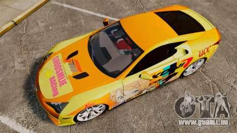 Lexus LF-A 2010 [EPM] Goodsmile Racing pour GTA 4 est un droit