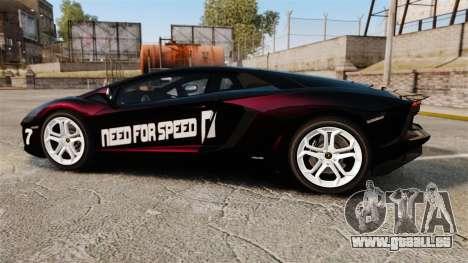 Lamborghini Aventador LP700-4 2012 [EPM] NFS pour GTA 4 est une gauche