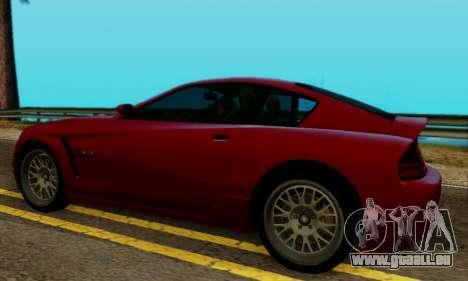 Fusilade GTA V pour GTA San Andreas sur la vue arrière gauche