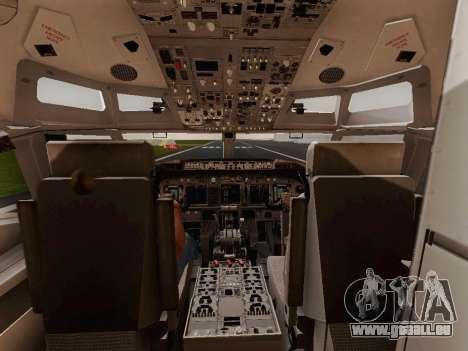 Boeing 737-800 Jet2 pour GTA San Andreas vue arrière