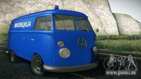 Volkswagen T1 Milicija für GTA San Andreas