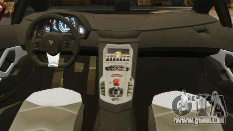 Lamborghini Aventador LP700-4 2012 [EPM] pour GTA 4 est un côté
