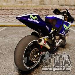 Yamaha YZR-M1 für GTA 4 rechte Ansicht