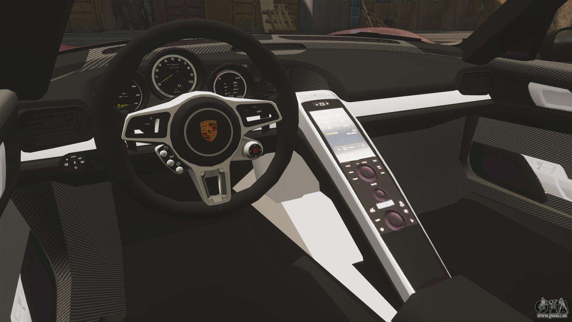 porsche 918 spyder pour gta 4. Black Bedroom Furniture Sets. Home Design Ideas