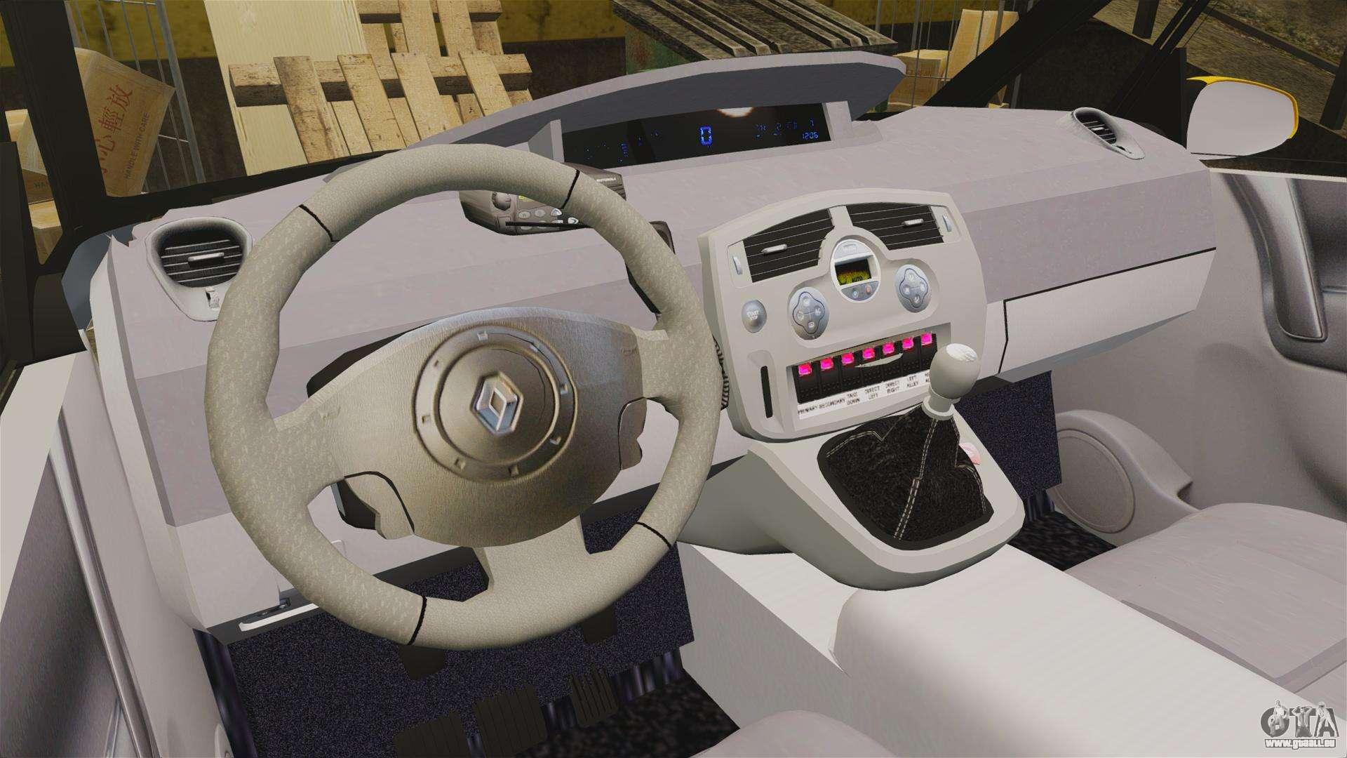 Renault espace police nationale els pour gta 4 for Renault espace 4 interieur