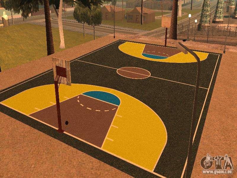 Terrain De Basket Pour Gta San Andreas