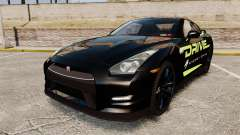 Nissan GT-R Black Edition 2012 Drive