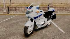BMW R1150RT Police nationale [ELS] v2.0 für GTA 4