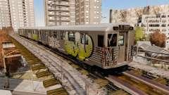 Neue graffiti für metrowakonowa