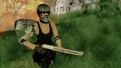 SWAT GIRL für GTA San Andreas